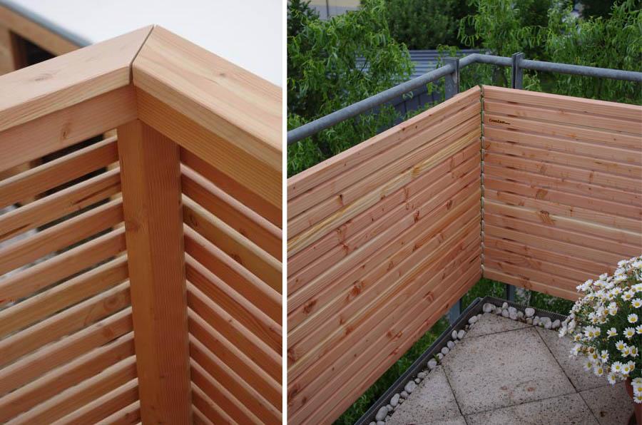 verkleidung design balkon. Black Bedroom Furniture Sets. Home Design Ideas